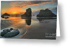 Low Tide Giants Greeting Card
