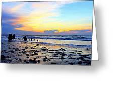 Low Tide Glow Greeting Card