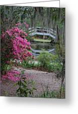 Lowcountry Series II - Ode To Monet Greeting Card