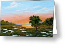 Lowcountry Sunrise Greeting Card