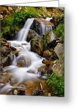 Lower Bridal Veil Falls 4 Greeting Card