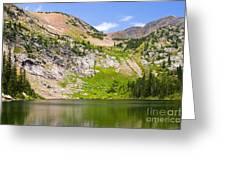 Lower Crater Lake Greeting Card