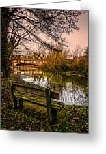 Lower Denford Hungerford Greeting Card