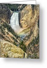 Lower Falls Greeting Card