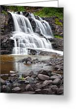 Lower Gooseberry Falls Greeting Card