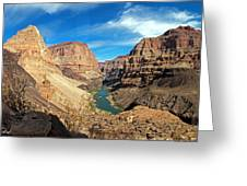 Lower Grand Canyon Greeting Card