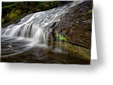 Lower Little Falls Greeting Card