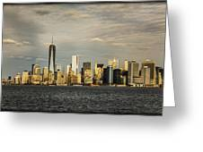 Lower Manhattan 1 Greeting Card