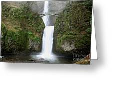 Lower Multnomah Fall Greeting Card