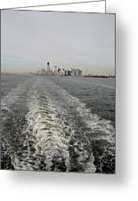 Lower New York Greeting Card