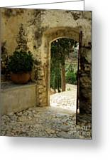 Lower Preveli Monastery Crete 3 Greeting Card