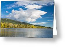 Lower Saint Mary Lake 1 Greeting Card