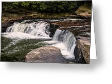 Lower Swallow Falls 2 Greeting Card
