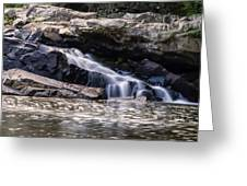 Lower Swallow Falls Stairsteps Greeting Card