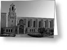 Loyola University Cudahy Library Greeting Card by University Icons