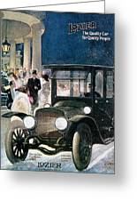 Lozier Cars - Vintage Advertisement Greeting Card