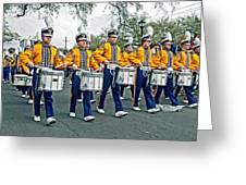 Lsu Marching Band Greeting Card