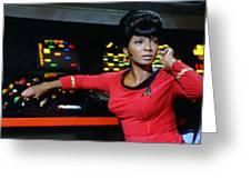 Lt Uhura Greeting Card