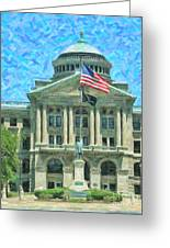 Lucas County Court House Greeting Card