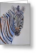 Lucky Stripe Greeting Card