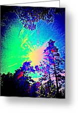 Lucy In The Sky With Diamonds Shining Right Back At You Greeting Card