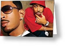 Ludacris Artwork Greeting Card