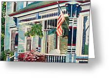 Ludington House B And B Greeting Card