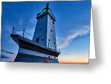 Ludington Lighthouse Greeting Card