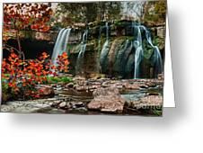 Ludlowville Falls Greeting Card