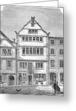 Ludwig Van Beethoven  Birthplace Greeting Card
