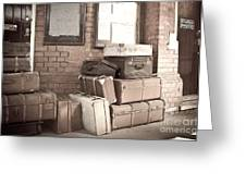 Luggage Cases Greeting Card