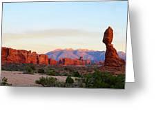 A Sandstone Landscape Greeting Card