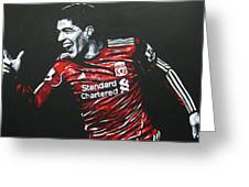 Luis Suarez - Liverpool Fc 2 Greeting Card