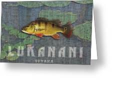 Lukanani Greeting Card