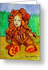 Lukas The Lion Greeting Card