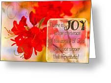 Luke 15 10 Greeting Card