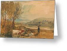 Lulworth Castle Greeting Card