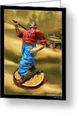 Lumberjacks Greeting Card