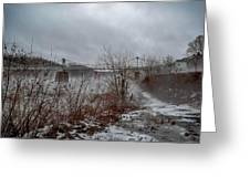 Lumberville Bridge Bucks County Greeting Card