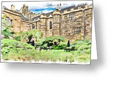 Lumley Castle Greeting Card