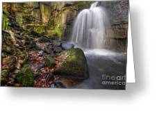 Lumsdale Falls 2.0 Greeting Card