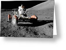 Lunar Ride Greeting Card