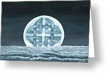 Lunaris Rising Greeting Card