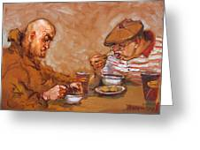 Lunchtime At Tim  Greeting Card