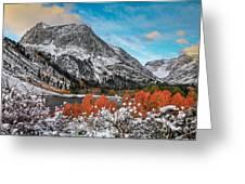 Lundy Lake Sunrise Greeting Card