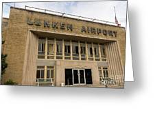 Lunken Airport In Cincinnati Ohio Greeting Card
