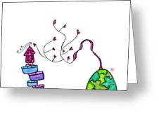 Lupita Finds A Way Purple 2 Greeting Card