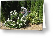 Luray Caverns Gardens - 12128 Greeting Card