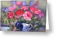 Luscious Roses Greeting Card