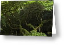 Lush Green Greeting Card